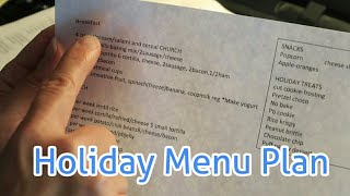 Baixar Large family December meal planning and holiday foods