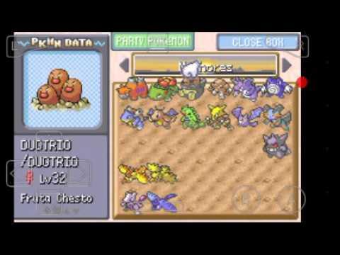 Como evoluir haunter pokemon fire red emulador