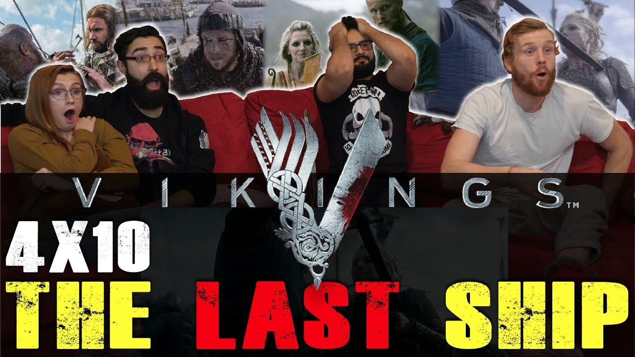 Download Vikings - 4x10 The Last Ship - Group Reaction