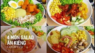 Bí kíp handmade - Giảm cân với các món salad và món chay