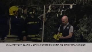 Yana Mintoff Bland u binha feruti fid-dar f'Ħal-Tarxien
