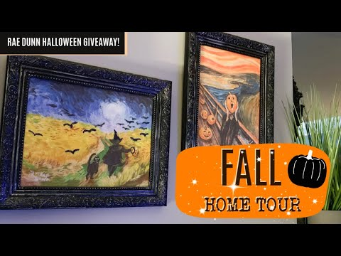 FALL HOME TOUR 2019   FALL DECOR IDEAS   FALL DECORATING MOTIVATION
