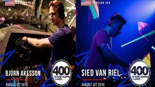 Bjorn akesson vs Sied van riel - Live FSOE400USA,(City National Civic San Jose) 01.08.2015