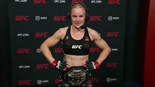 UFC 255: Валентина Шевченко - Слова после боя смотреть онлайн в хорошем качестве - VIDEOOO