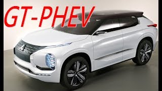 Mitsubishi GT-PHEV 概念車 三菱 SUV