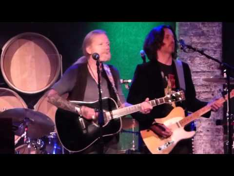 Gregg Allman Band - Floating Bridge 11-2-15 City Winery, NYC