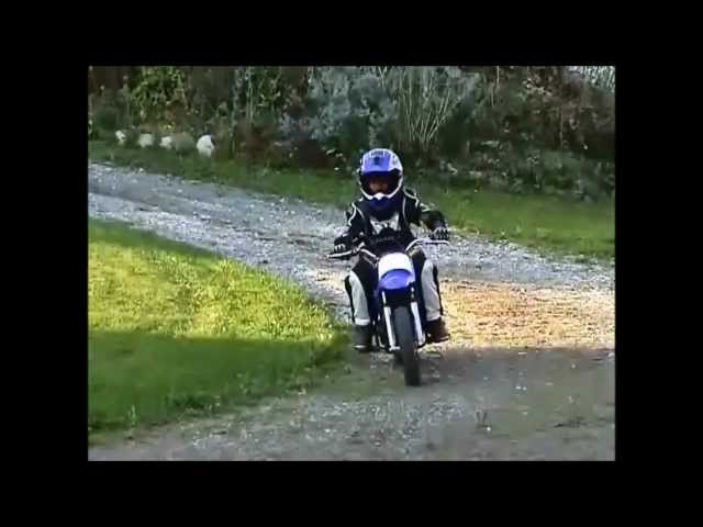 My first motocross bike - Yamaha PW50
