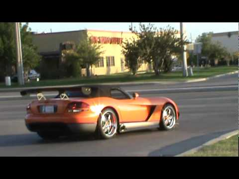 Dodge Viper SRT/10 ACR Idle and take off