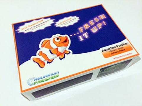 Saratogas-Aquaworld Produkttest: Aquarium-Fresher