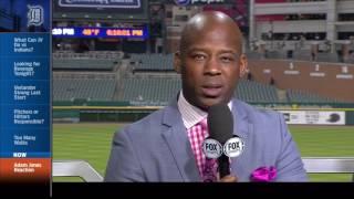 Tigers LIVE: Adam Jones reaction from Rod Allen & Craig Monroe