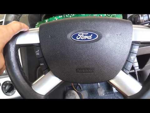 Ford focus 2005. Не заводится. Панель приборов.