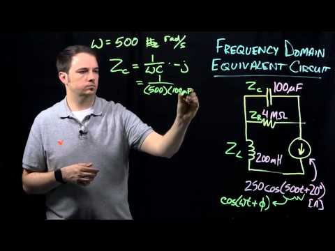 Circuits I: Example - Frequency Domain Equivalent Circuit