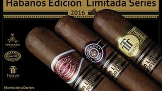 Cigar obsession with Cuban Limitada(Limited)Edicion(Edition) cigars 2011,2012,2013,2014,2015,2016