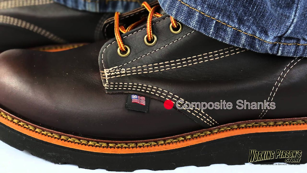 eef98fa082c Thorogood Boots: Men's Brown American Heritage 814-4269 USA-Made EH Work  Boots