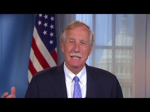 Senator Angus King Commends Institute for Local Food Systems Innovation at Saint Joseph