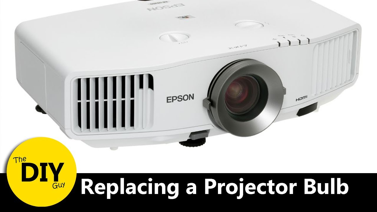 Replacing a Epson Projector Bulb