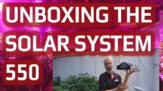 Preview of the ALL-NEW SolarSystem 550 LED Grow Light!