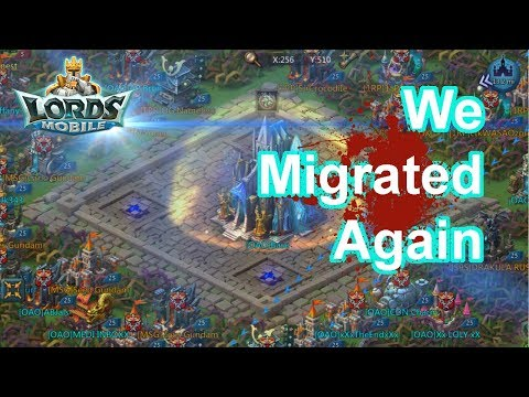 Migrate To Harass SKY? + Baron LIVE - 王國紀元 Lords Mobile