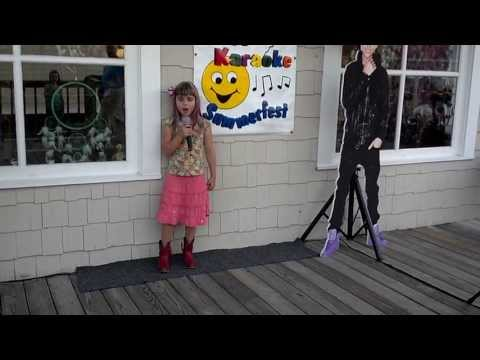 8 Yr Old Megan Hickey Sings Before He Cheats By Carrie Underwood