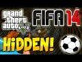 """GTA 5 ONLINE: """"FIFA 14"""" HIDDEN SOCCER BALL EASTER EGG LOCATION """"GTA 5 ONLINE EASTER EGGS"""""""