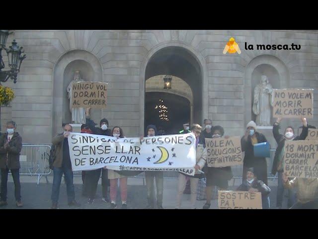 Presentació del Sindicat de persones sense llar de Barcelona