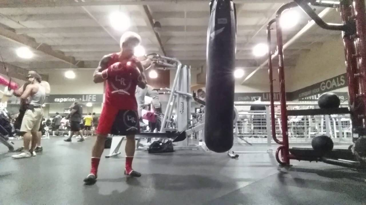 Heavy Bag At 24 Hour Fitness