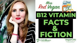 B12 VITAMIN FACTS & FICTION 🏋️♀️ ASK ME ANYTHING #18 💋 Miss Red Vegan