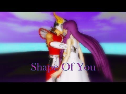 【MMD】Saori & Seiya - Shape Of You Short ver【Saint Seiya】