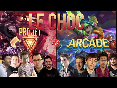 Team ARCADE vs Team PROJECT #2: La triche, Riven jungle ♥