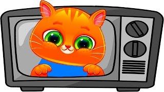 - ГОВОРЯЩИЙ КОТЕНОК БУБУ 42 ХЭЛЛОУИН Bubbu My Virtual Pet игровой мультик для детей ПУРУМЧАТА
