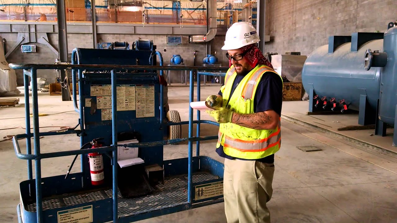 Aerial Lift Inspection