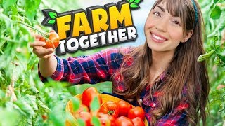 FARMING + MAKING MONEY!! (Farm Together)