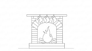 Как рисовать новогодний камин с огнем:  инструкция от EvriKak(Предлагаем нашу пошаговую инструкцию как поэтапно нарисовать камин с дровами на новый год. Фото и текстова..., 2015-11-20T11:55:14.000Z)