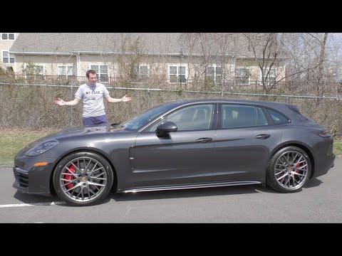 Porsche Panamera Sport Turismo за $180 000 это самый дорогой универсал в истории