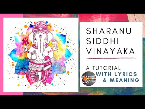 Sharanu Siddhi Vinayaka | Learner's Series | Beginner Bhajans