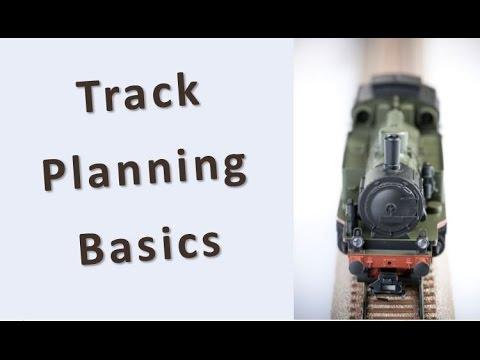 Track Planning Basics – N Scale, HO, OO Gauge