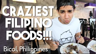 THE CRAZIEST FILIPINO FOODS!!! (Spicy Ice Cream with Fermented Shrimp)