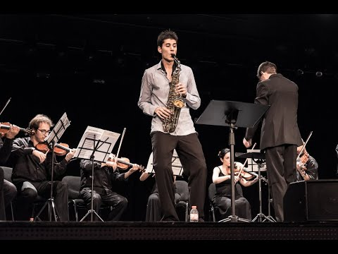 Maurici Esteller -  FINAL ROUND Saxophone Competition ANDORR