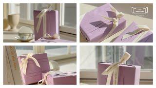 예쁘게 선물포장하는법 (ASMR) - gift wrap…