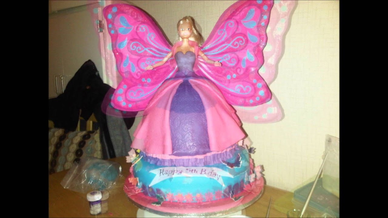 Making Fairy Wings For Cakes