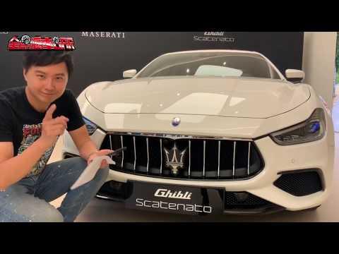 【賞車】Maserati Ghibli Scatenato