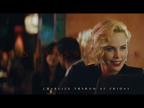 MISTRESS STARK || Charlize Theron as Friday || IRON MAN, AVENGERS from YouTube · Duration:  1 minutes 12 seconds