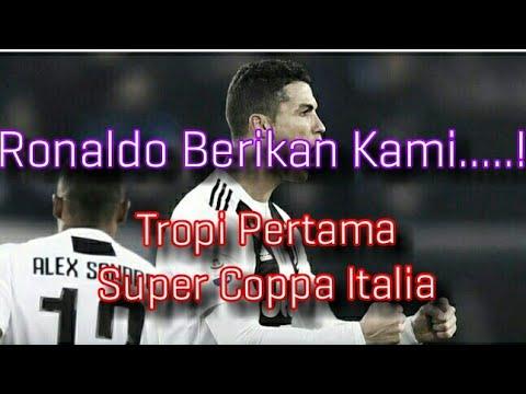 Juventus vs AC Milan - Pembuktian Ronaldo Di Tunggu Di Super Coppa Italia Mp3