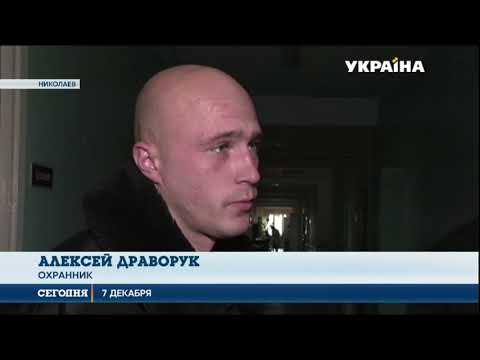 Вооруженные люди пытались ограбить администрацию рынка в Николаеве