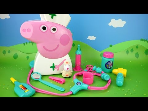 Thumbnail: Peppa Pig. Developing cartoon. Tools Doctor. For children Peppa Pig NEW FuN ToYs for KiDs