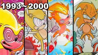 The History Of Fleetway Super Sonic