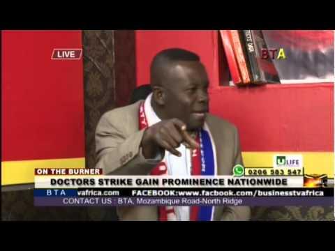 Doctors Strike Gain Prominence Nationwide With Alistair Nelson, Kofi Boney And Alex Ackuaku