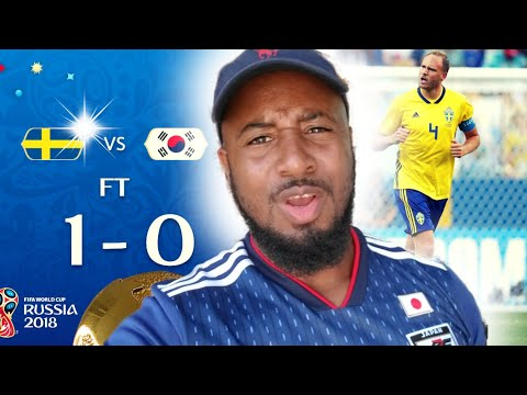 Sweden vs South Korea 1-0 Reaction | Group F - Mexico vs Germany 1-0