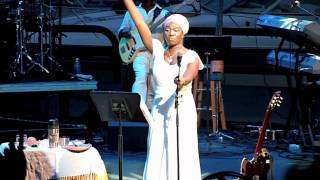 "India Arie - ""Heart of the Matter"" in Concert 6-18-11 Chene Park Detroit"