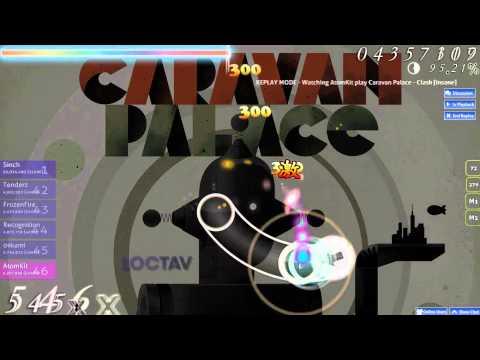 【osu!】Caravan Palace - Clash
